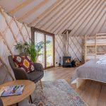 Izera Glamping - Luksusowe jurty w górach Izerskich - czerwona (16)