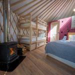 Izera Glamping - Luksusowe jurty w górach Izerskich - czerwona (18)
