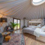 Izera Glamping - Luksusowe jurty w górach Izerskich - niebieska (27)