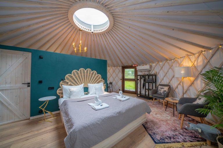Izera Glamping - Luksusowe jurty w górach Izerskich - zielona (11)