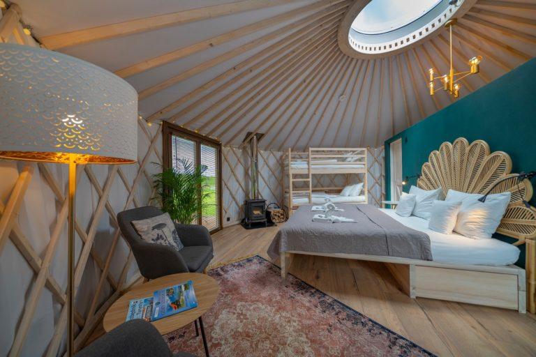 Izera Glamping - Luksusowe jurty w górach Izerskich - zielona (15)