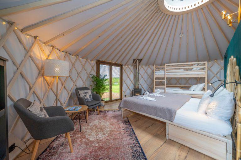 Izera Glamping - Luksusowe jurty w górach Izerskich - zielona (16)