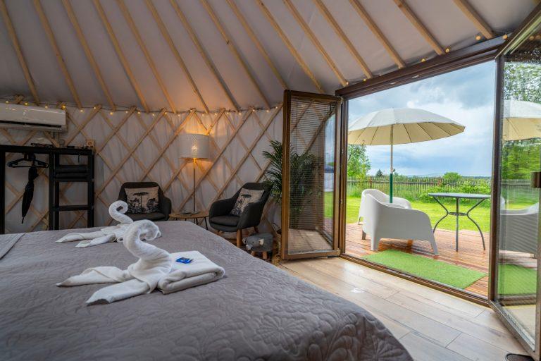 Izera Glamping - Luksusowe jurty w górach Izerskich - zielona (19)