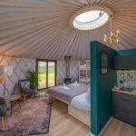 Izera Glamping - Luksusowe jurty w górach Izerskich - zielona (2)