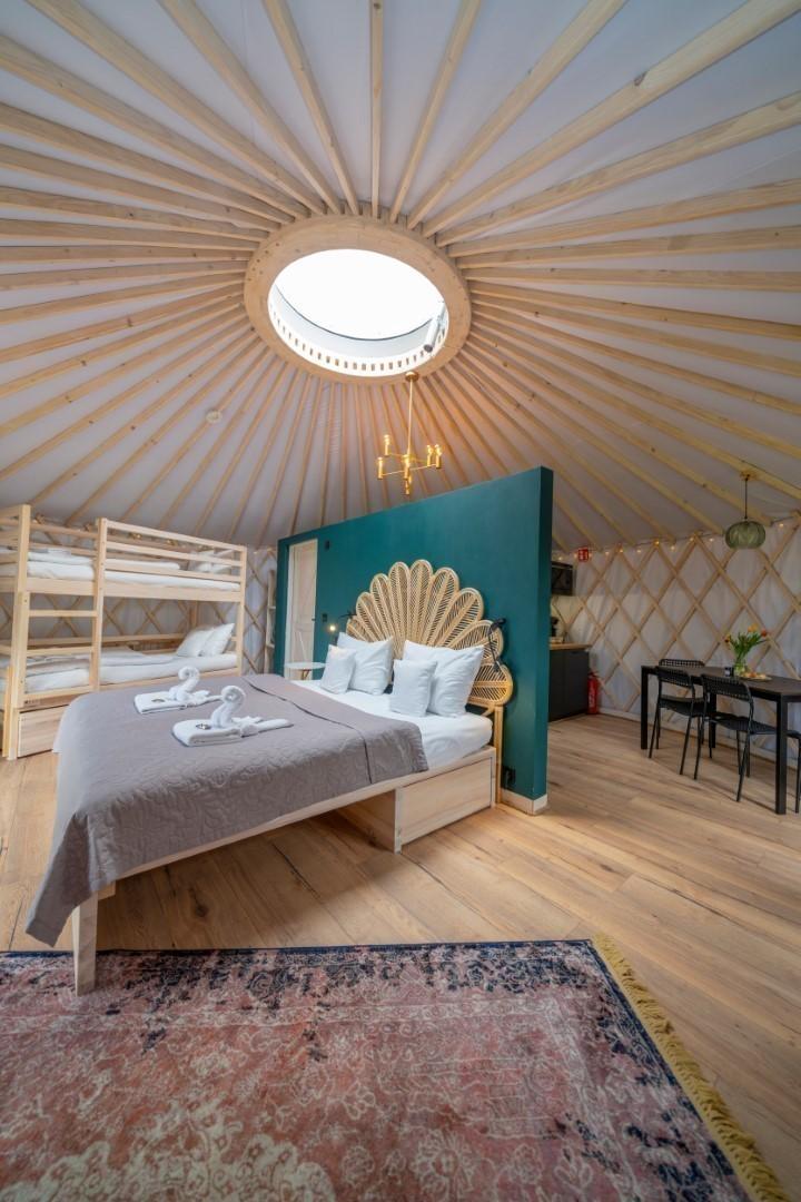 Izera Glamping - Luksusowe jurty w górach Izerskich - zielona (21)