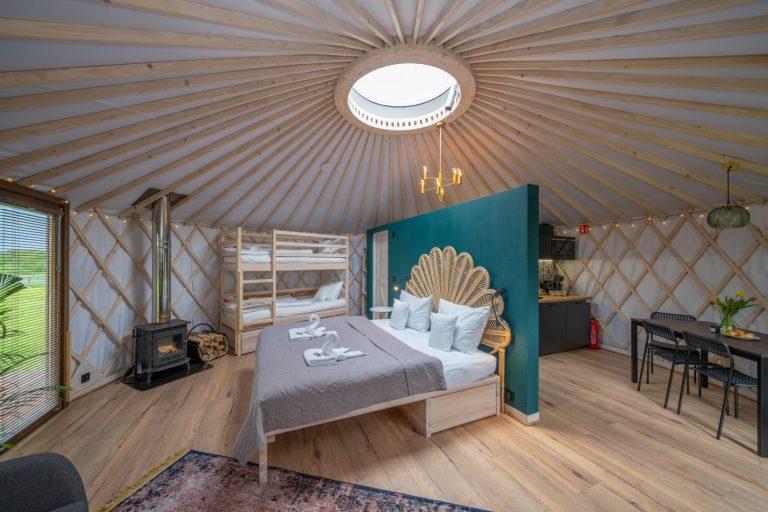 Izera Glamping - Luksusowe jurty w górach Izerskich - zielona (22)