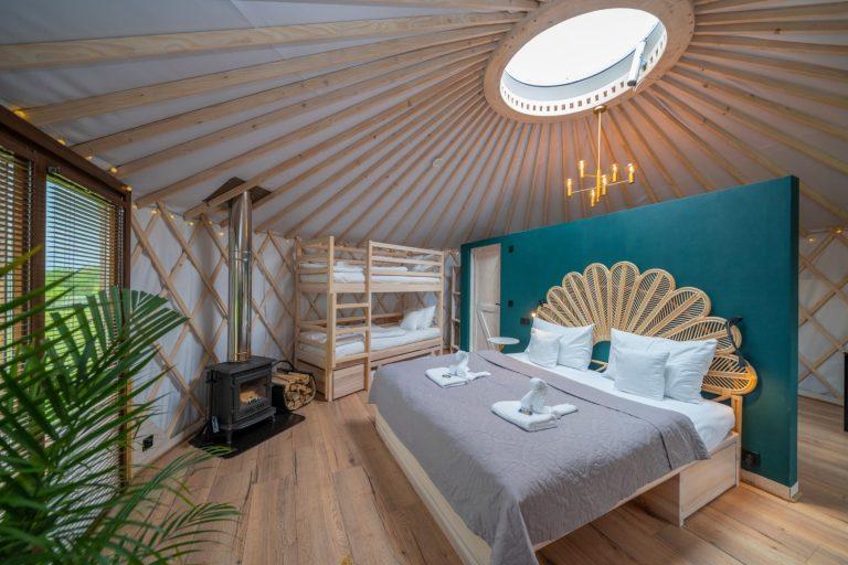 Izera Glamping - Luksusowe jurty w górach Izerskich - zielona (23)