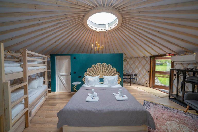 Izera Glamping - Luksusowe jurty w górach Izerskich - zielona (24)