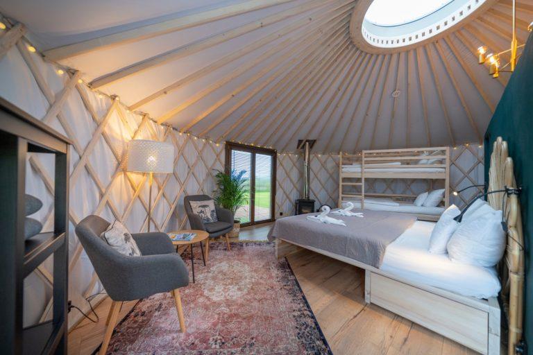 Izera Glamping - Luksusowe jurty w górach Izerskich - zielona (6)